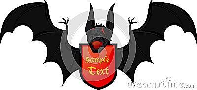 Bat coat of arms