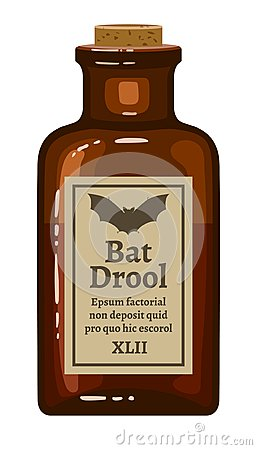Bat drool Vector Illustration