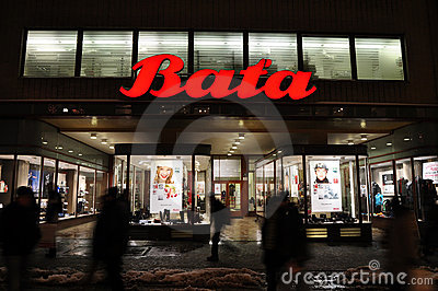 Bata shoes shop Editorial Photo