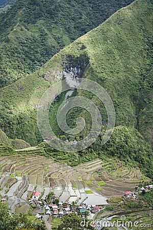 Batad mountain rice terraces luzon philippines