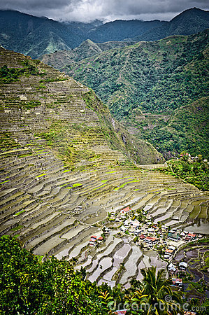 Batad rice paddies at ifugao