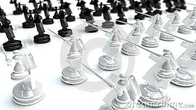 Bataille 1 d échecs