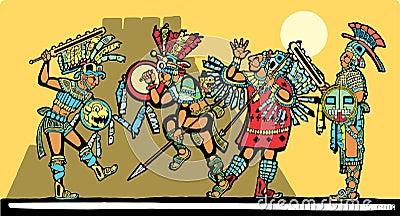 Bataille maya