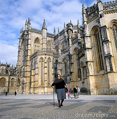 Batalha Abbey in Portugal Editorial Stock Image
