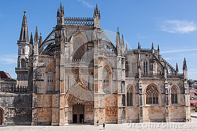Batalha gothic monastery in Portugal.