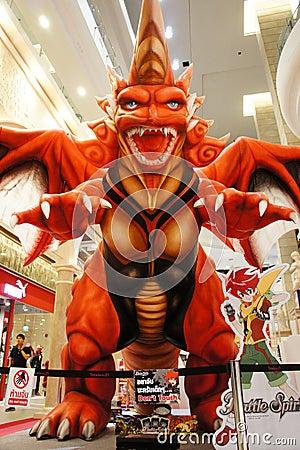 Batalistyczni turniejowi duchy Thailand Zdjęcie Editorial