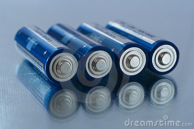 Baterías del AA