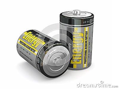 Baterias da energia