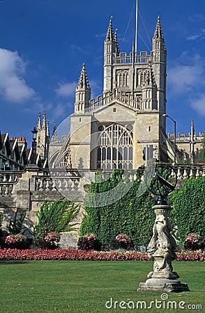 Free Bath Abbey Royalty Free Stock Photo - 4119815