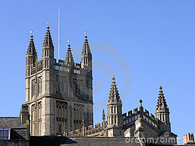 Bath Abbey In England