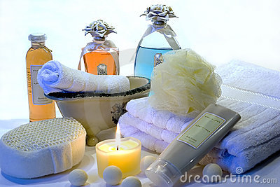 Bath Accessories 5 Royalty Free Stock Image - Image: 362366