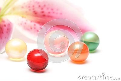 Bath balls