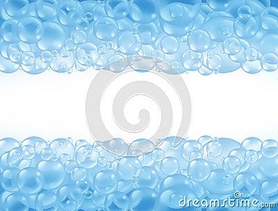 Bath bubbles soap suds