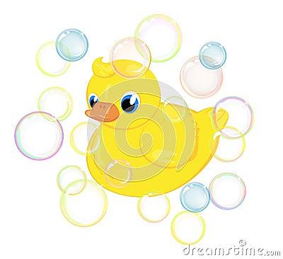 Bath duckling