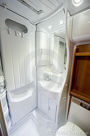 Bath of motor home