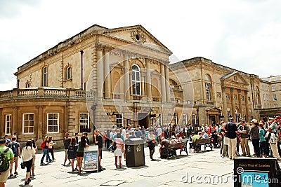 Bath s bathhouse Editorial Stock Image