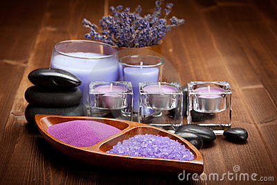 Bath salt for aromatherapy