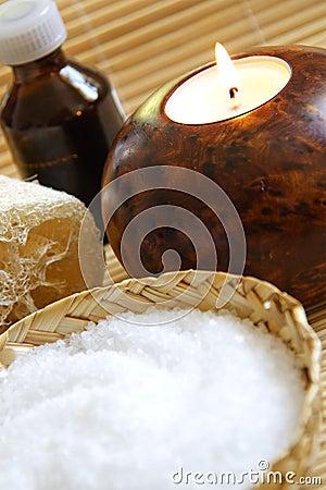 Bath Salt ,Candle and Massage oil