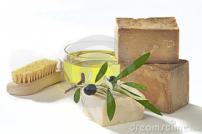 Bath soap olive oil