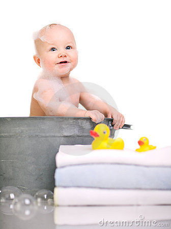 Free Bath Time Royalty Free Stock Images - 7855599