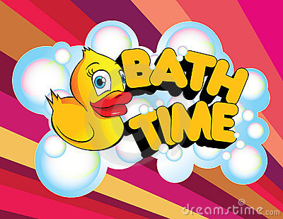 Bath Time Rubber Duck