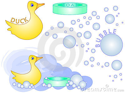 Bath Time Rubber Duck [VECTOR]
