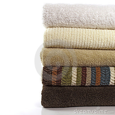 Free Bath Towels 2 Royalty Free Stock Photo - 12560925