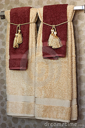 Free Bath Towels Stock Photos - 389033