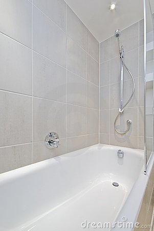 Free Bath Tub With Shower Attachment Royalty Free Stock Images - 11684229