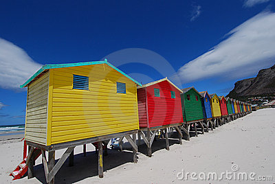 Bathing box colours