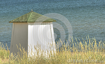 Bathing hut