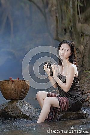 Free Bathing Woman Stock Photos - 93569443