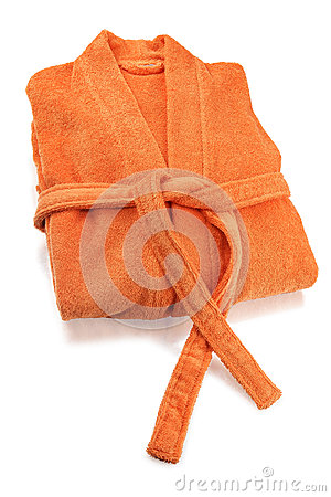 Bathrobe Orange