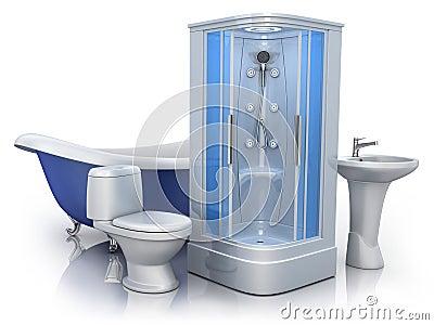 Bathroom equipment royalty free stock photography image for Bathroom 94 percent