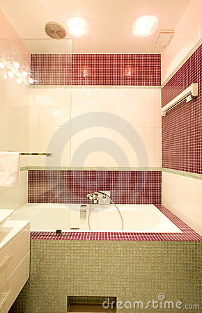 Bathroom in the house