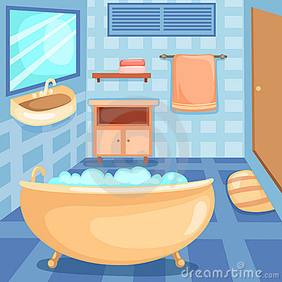 Clipart Of Bathroom