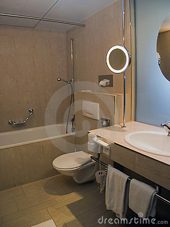 Free Bathroom In Hotel Stock Images - 195424