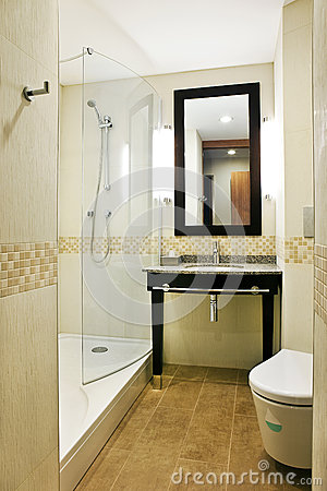 Bathroom interior