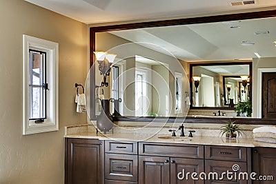large bathroom mirror stock photos image bathroom decor