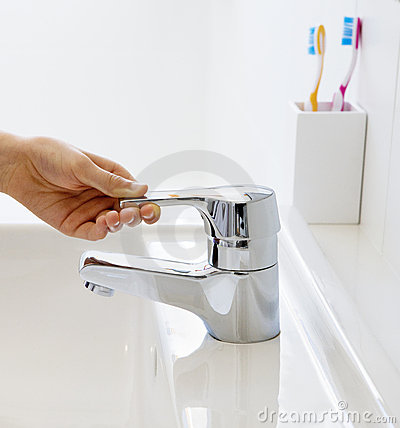 Free Bathroom Mixer Tap Faucet Stock Photography - 16534602