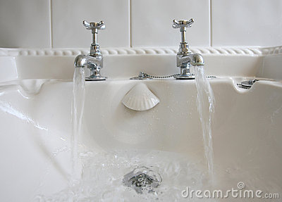Bathroom Taps and Running Water