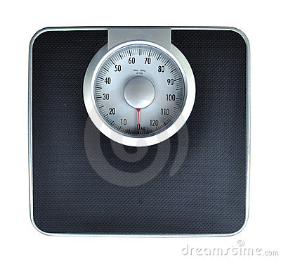 Free Bathroom Weight Scale Stock Image - 16510771