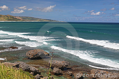 Bathsheba海岸线
