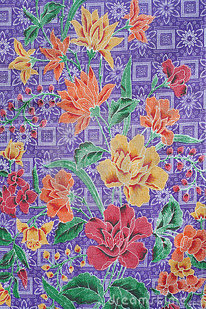 Free Batik Design In Thailand Stock Photography - 20309032