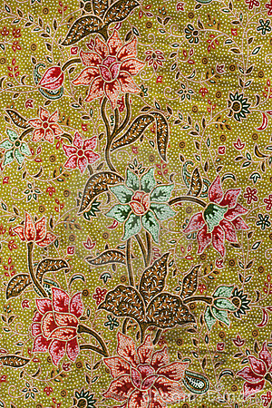 Free Batik Design In Thailand Royalty Free Stock Image - 20309036