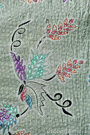 Free Batik Design In Thailand Royalty Free Stock Image - 20312526