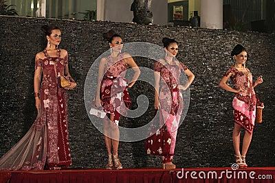 Batik Fashion Editorial Image