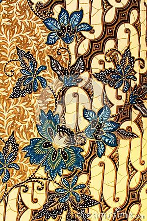 Batik Motif Stock Images Image 17399324