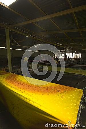 Batik painting industry