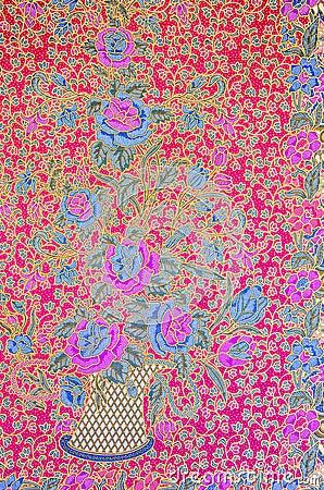 Free Batik Pattern Royalty Free Stock Photos - 48884398